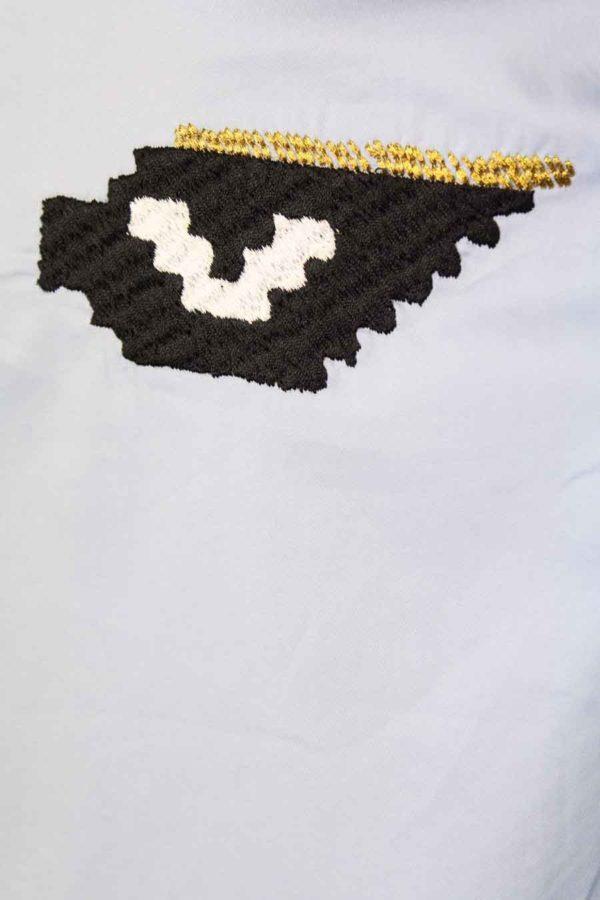 Maurice knitwear Eyes collar blouse Elise