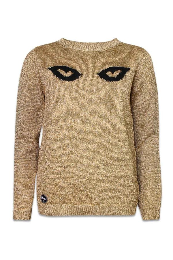 LIMITED EDITION golden eyes jumper