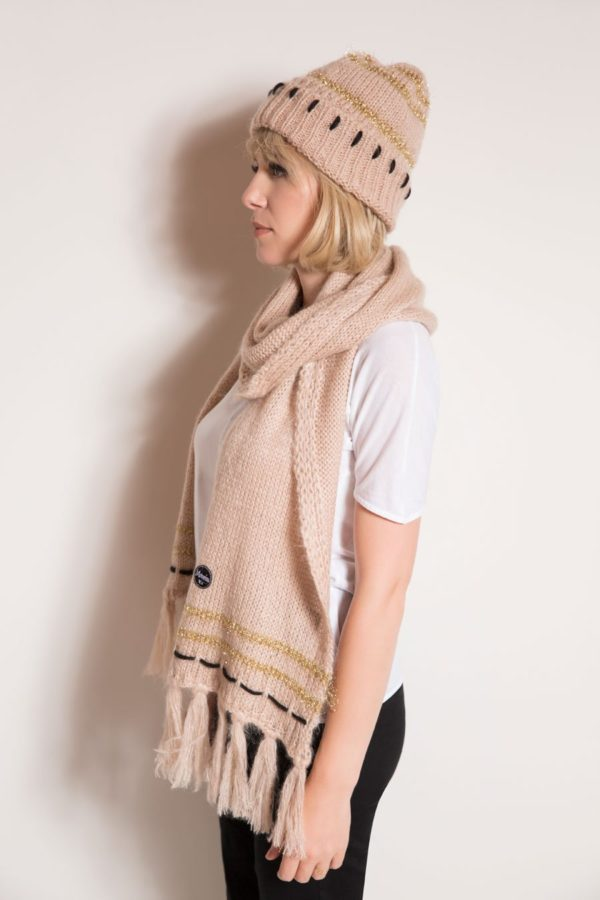Maple marble scarf