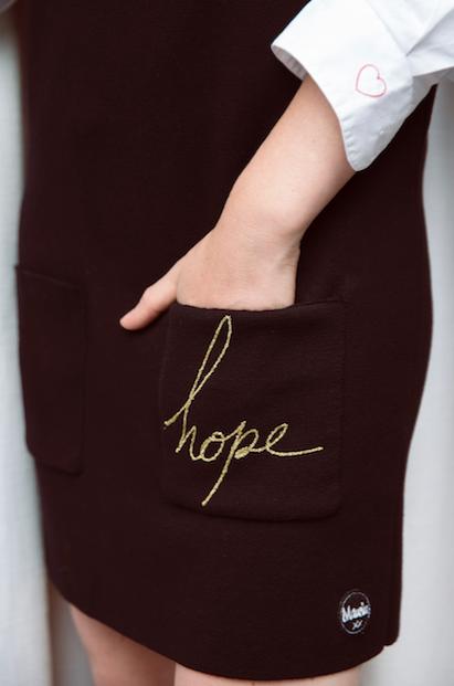Hope black dress